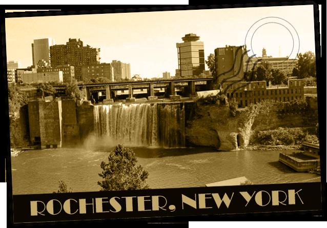 Rochester, New York Postcard